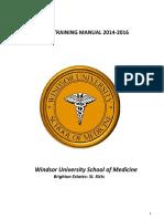 Windsor Clinical Training Manual 2014