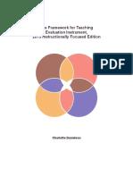 TRANSLATEDdanielson Teacher Rubric 2013 Instructionally Focused