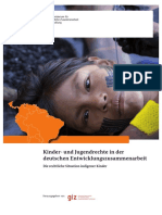 Kinder- und Jugendrechte in der deutschen Entwicklungszusammenarbeit