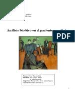 Análisis bioético César Romero III Medicina.pdf