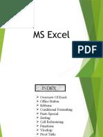 Excel Basics Training