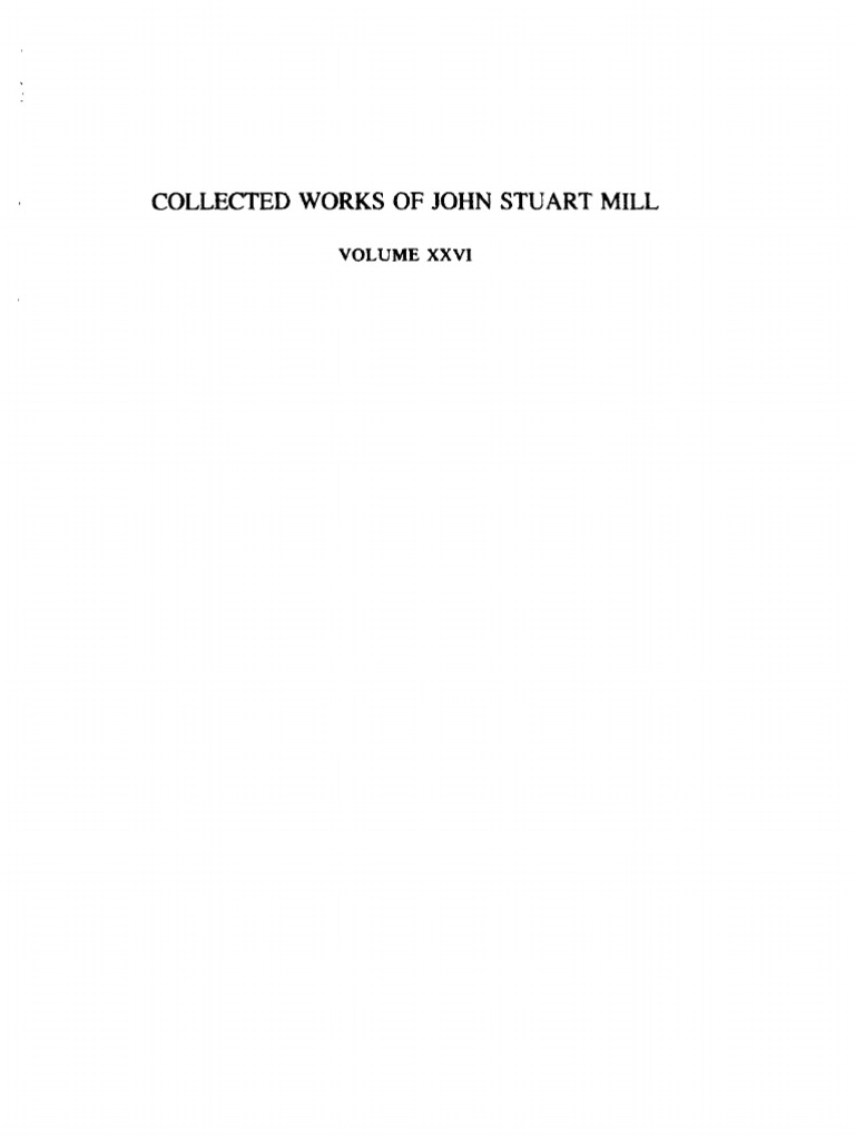 The Works of John Stuart Mill - Tomo 26   University Of Cambridge    Languages b5cc35d0312