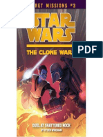 Star Wars the Clone Wars Secret Missions 03 Duel at Shattered Rock by Ryder Windham