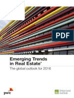 Emerging Trends in Real Estate the Global Outlook 2016