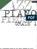 260681988 Jazz Piano Pieces Grade 1
