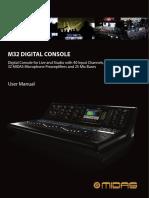 Manual Midas m32