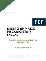 DISEÑO EMPÍRICO DE PAVIMENTOS