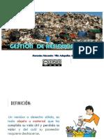 RESIDUOS SÓLIDOS, CLASIFICACIÓN Y SITUACIÓN ACTUAL