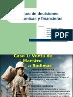 Casos de Decisiones Económicas y Financieras