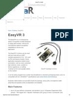 EasyVR3 Reconocedor de Voz