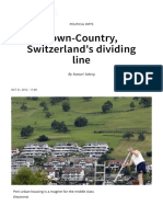 Town-Country, Switzerland's Dividing Line - SWI Swissinfo.ch