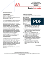 Ammonium Persulfate (A3678) - Product Information Sheet
