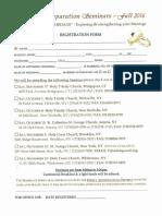 Seminar Reg Form