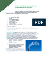 Agentes Químicos Inorgánicos y Orgánicos Que Causantes Del Cambio Climático