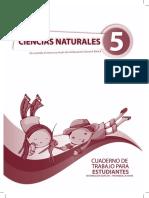 Cuaderno de Trabajo Naturales 5to