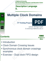 Multi Clock Design