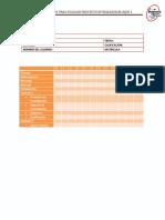 Lista de Cotejo Para Proyecto Bloque 1