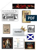Macbeth Home Learning Context Booklet