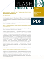 Flash Publico - Novo Regime Juridico Das Plataformas Eletronicas de Contratacao Publicas -21.08.2015