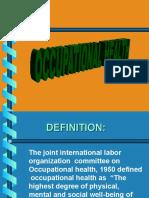 Ocupational Health