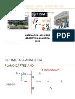 geometria analitica - 2016