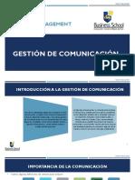 2. Gestión de Las Comunicaciones