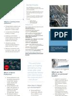 noise pollution brochure