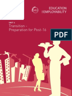 Employ_ks4_4 Transition - Preparation for Post 16