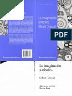 Durand G - La Imaginación Simbólica