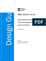 Cfsd - Pub - Aisi d310-14 - Design Guide for Aisi s310-13