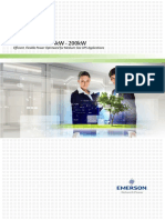 Liebert® eXM™ UPS 10-200 kVA/kW