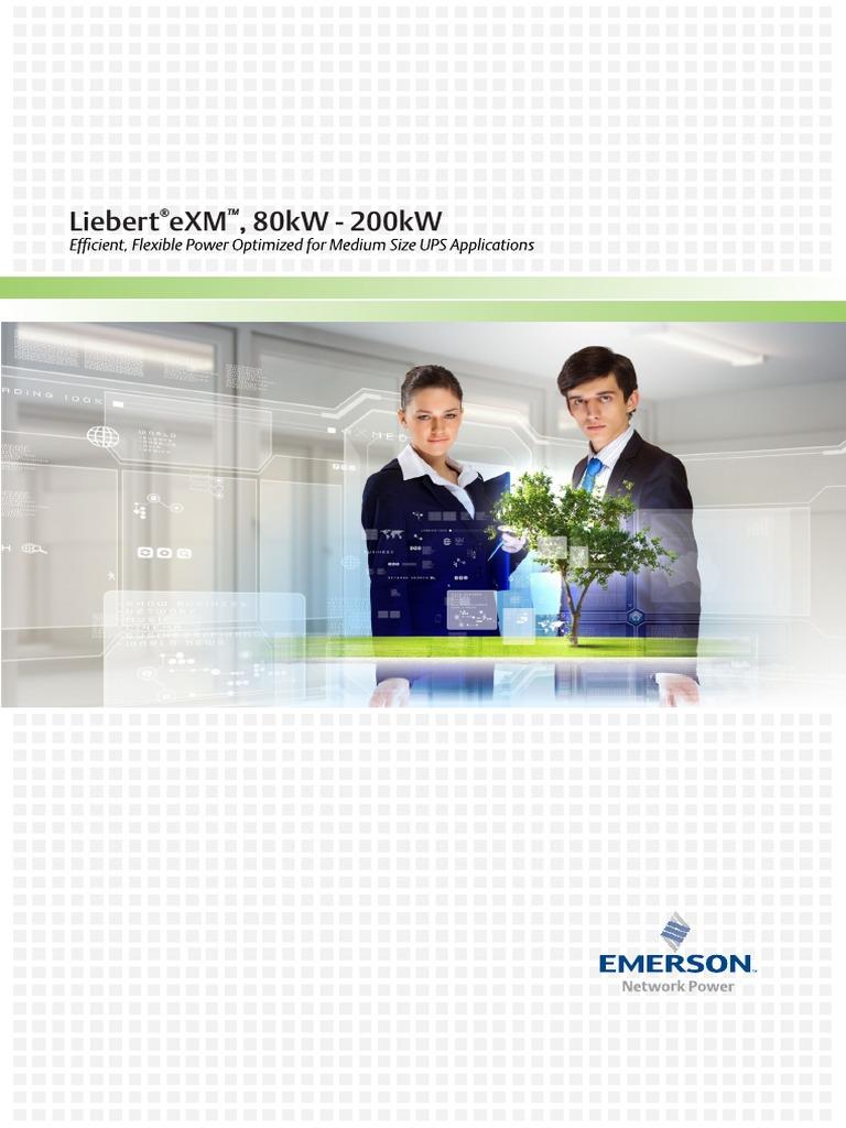 Liebert pcw 200 kw user manual 2016