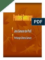 Kuliah Ke-3 Sumuran & Pancang [Compatibility Mode]