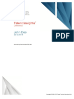 Talent Insights - Liderança