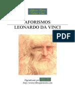 Aforismos Libro Leonardo Da Vinci