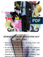 Education Act 1961