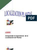 1.- Estrategia de Localización