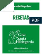 Recetas Santa Hildegarda de Bingen CSH