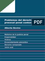 Problemas del derecho procesal penal contemporaneo por Alberto Bovino