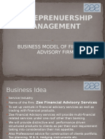 Business Plan on Financial Advisory Services