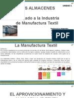 Almacenes en Manufactura Textil