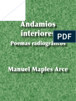 Andamios interiores - Manuel Maples Arce