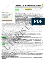 Utkrist- Exclusive GS SYNOPTIC Notes- 2010-Part-A