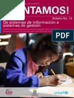 De sistemas de información a sistemas de gestión
