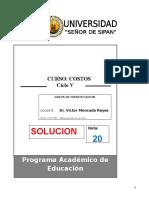 Solución i Evaluacion a Distancia Costos 2013-0 Pead Uss