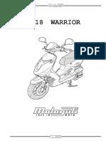 Malaguti F 18 Warrior Manual de Reparatie Www.manualedereparatie.info