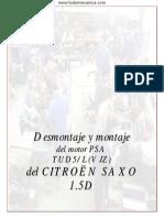 Desmontaje y Montaje Del Motor PSA TUD5L(VJZ) de CITROËN SAXO