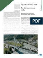 Il ponte strallato di Albes