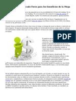 Cortar a ras el mercado Forex para los beneficios de la Mega