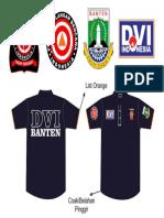 Design Kaos Dvi Tagana Pbi Banten
